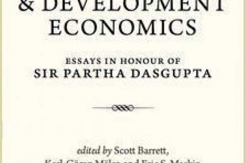 Profesores da USC participan xunto con varios Nobel de Economía nunha obra monográfica dedicada a Partha Dasgupta
